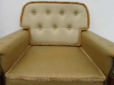 vintage-kitsch-super-trash-shabby-chic=gouden-gold-fauteuil-lounge-chair-b22b