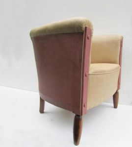 Vintage, club, chair, sixties, skai, clubfauteuil, fauteuil