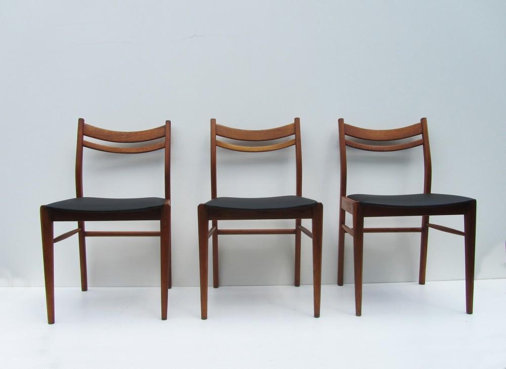 Jaren 50 Stoel : Vintage scandinavische houten design stoelen uit de jaren 50 60