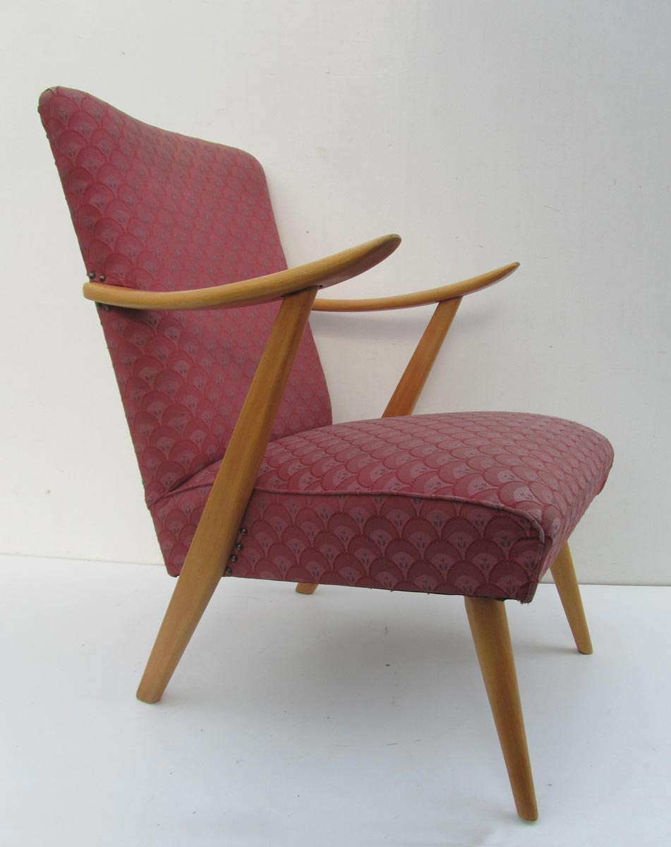 Design Retro Fauteuil.Vintage Retro Easy Chair