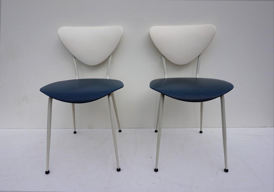 Betere Retro vintage jaren 50 skai stoelen, set van 2 HD-24