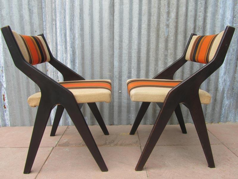 Eettafel Stoelen Retro.Retro Stoelen Cool Verkocht Mooie Set Vintage Design Stoelen With