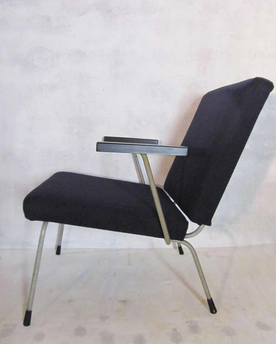 gispen industrial vintage lounge fauteuil chair wim rietveld