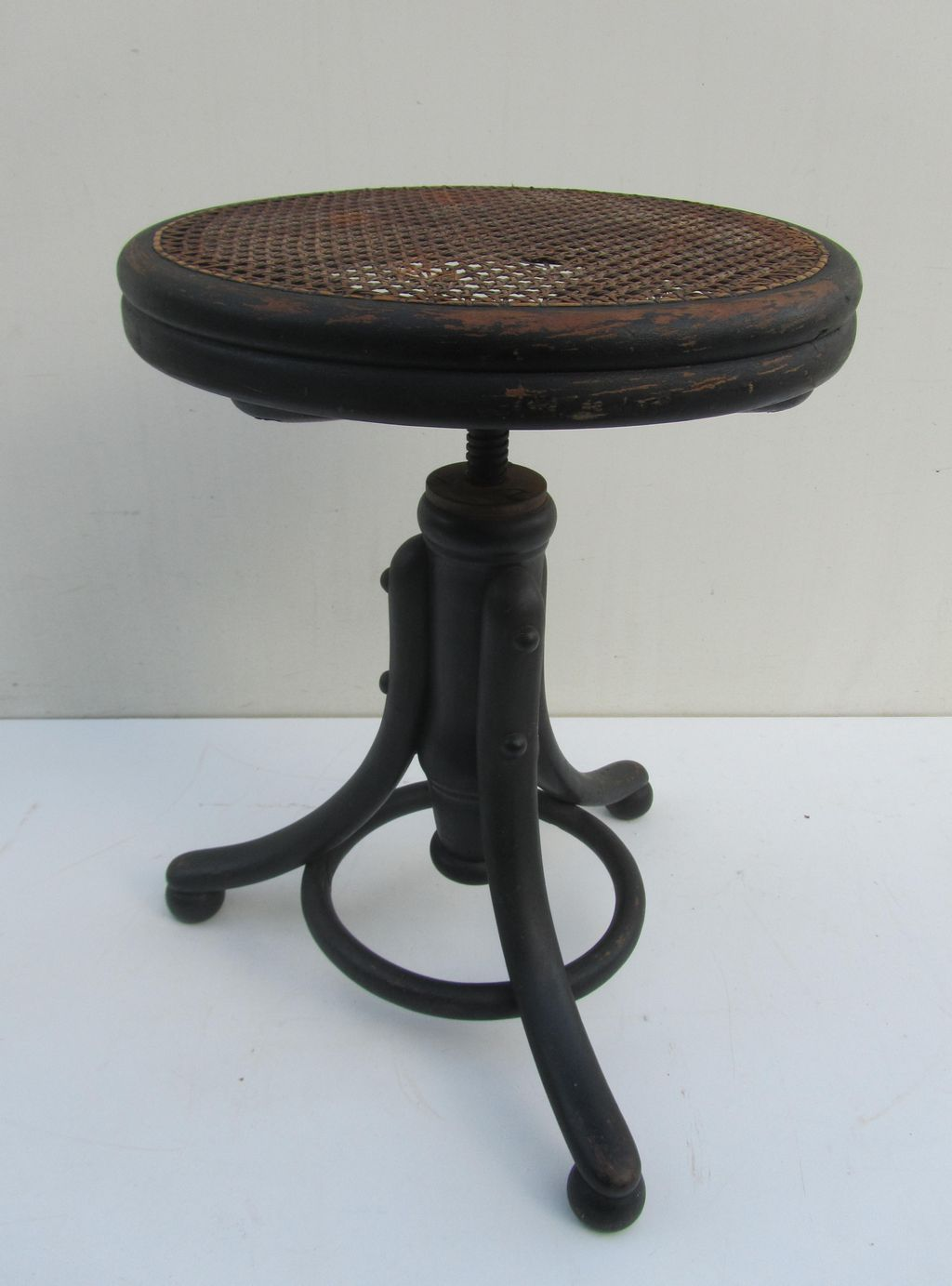 Thonet Piano Stool Tabouret Adjustable