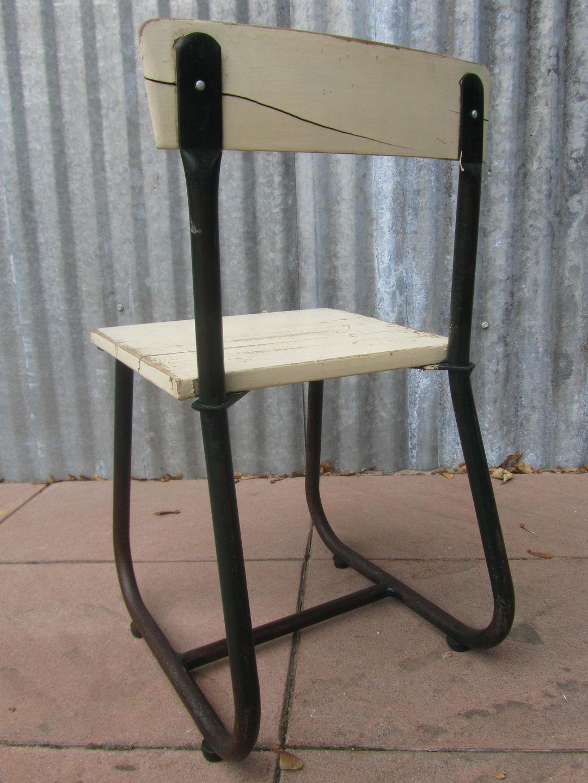 tubax ... - Vintage Children's Chair By Tubax, Belgium 1940s-1950s