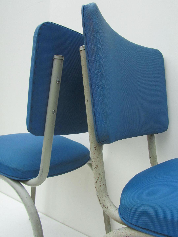 24 Design Stoelen.Industriele Vintage Tubax Stoelen Willy Van Der Meeren