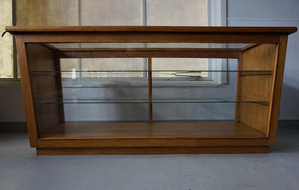 Vitrinekast Voor Op Toonbank.Retro Vintage Winkel Toonbank Vitrinekast Balie Winkelvitrine
