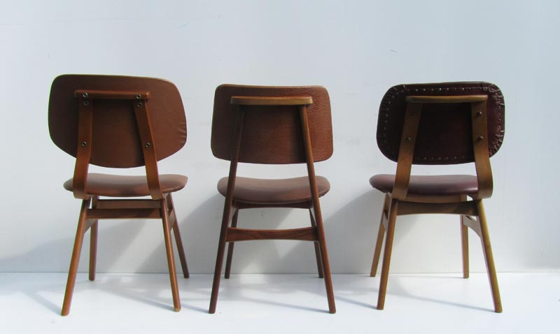 Betere Vintage retro cafestoelen/ eetkamerstoelen UJ-92