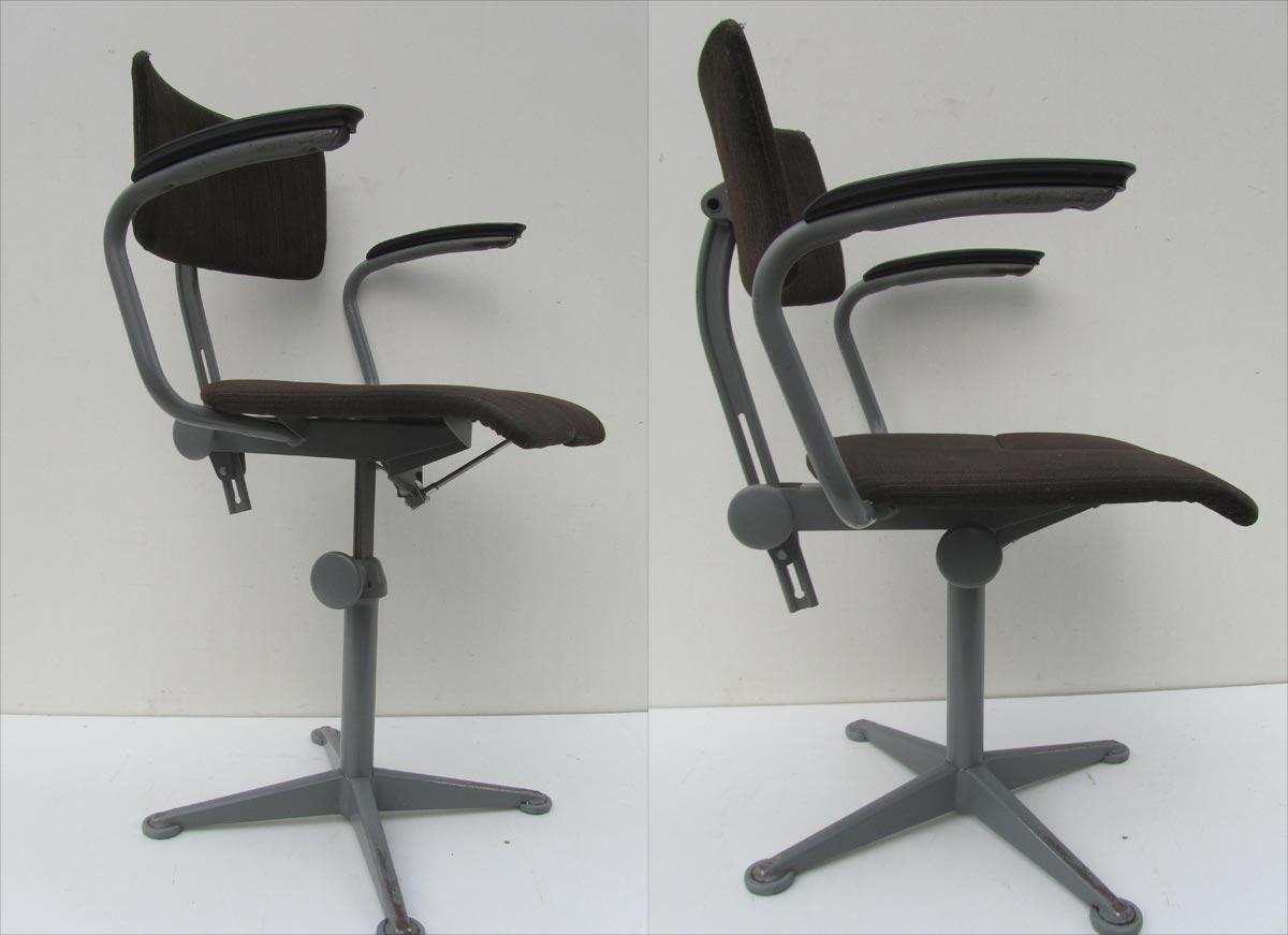 Vintage Design Bureaustoel.Vintage Friso Kramer Arthrodesis Office Chair Work Chair