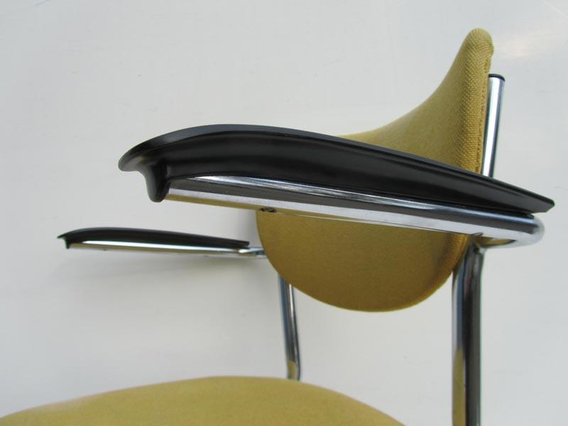 Vintage Gispen De Wit stoel 3011 bureaustoel