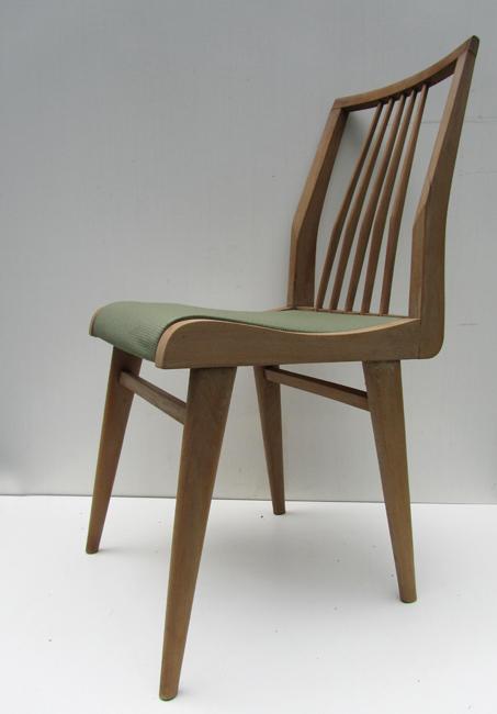 4 retro vintage houten stoelen habeo dining chairs