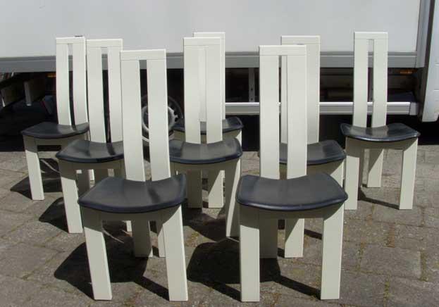 Vintage Mid Century Dining Chairs Pietro Costantini