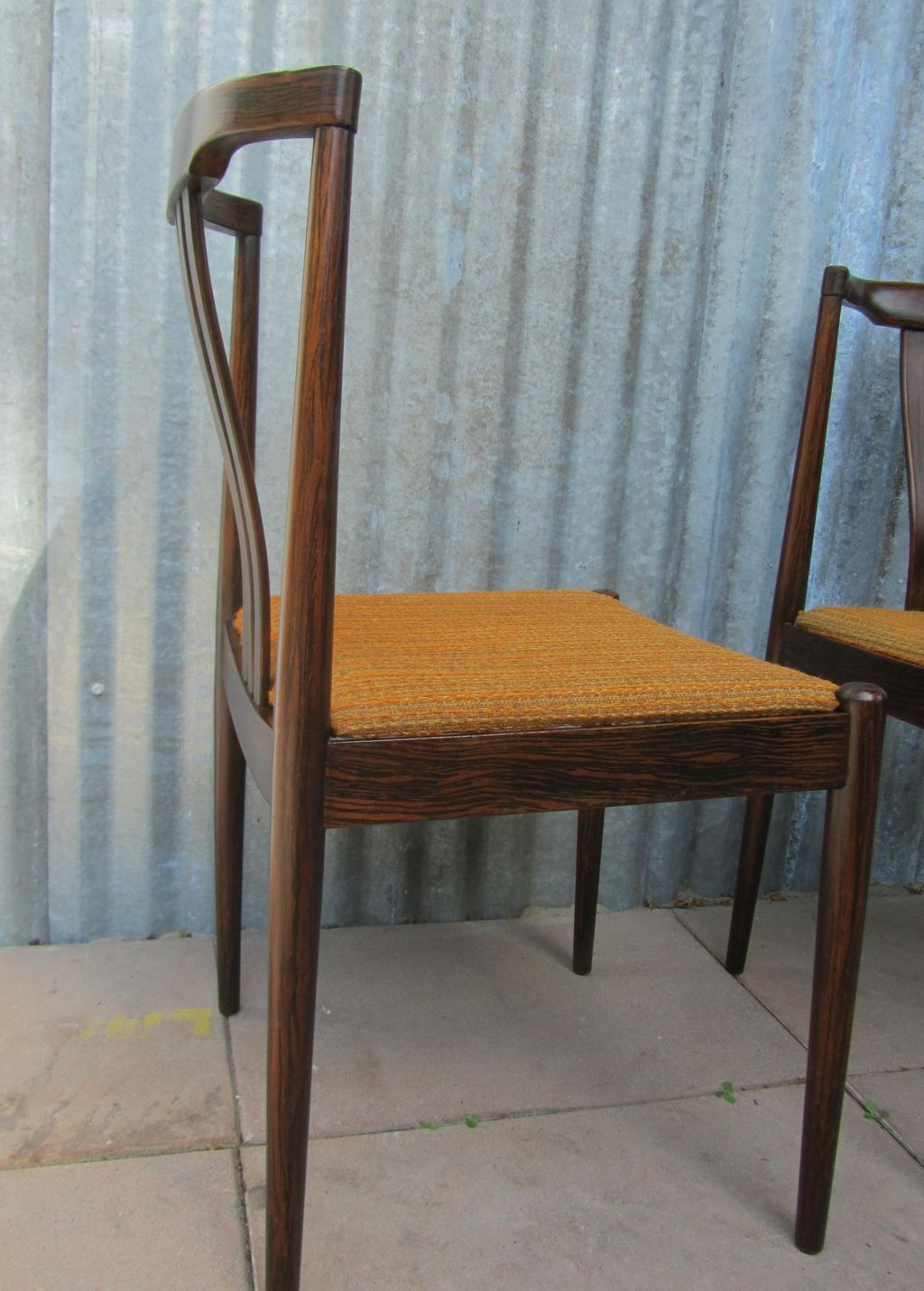 Vintge MidCentury Modern Danish Dining Chairs
