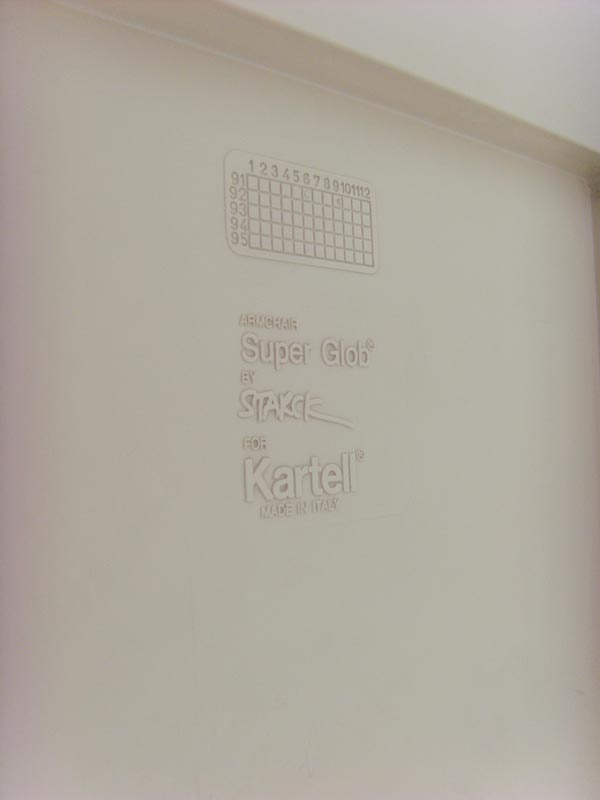 Vintage Stoel Super Glob Philippe Starck Voor Kartell