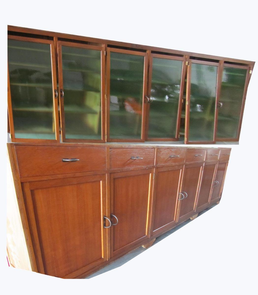 Sfeerfolle, mooie, strakke, mega grote antieke, oude boekenkast ...