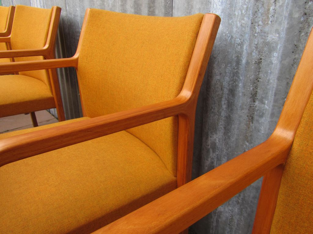 Set of 10 midcentury wilkhahn side chairs 1960s for Chair 9 hotel
